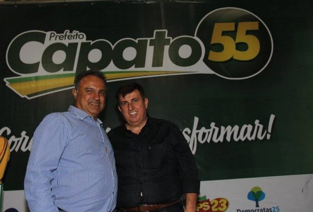 Oficialização de Celso Capato a prefeito de Artur Nogueira