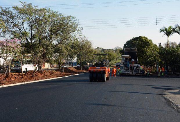 Recape da Avenida Emília Marchi deve ser concluído na próxima semana