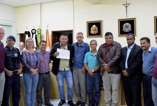 Câmara de Holambra homenageia Guarda Municipal