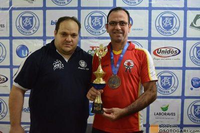 Judô Guaçuano é 4º entre os 10 melhores ao disputar Torneio em Amparo