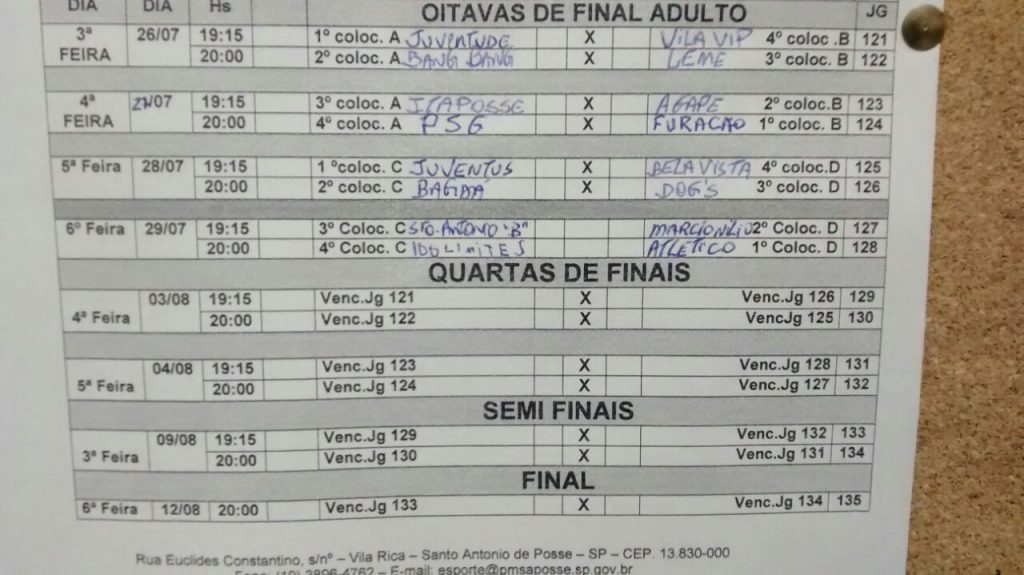 oitavas de final