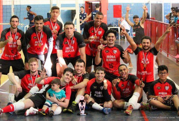 Vôlei masculino nogueirense conquista bronze nos Jogos Regionais