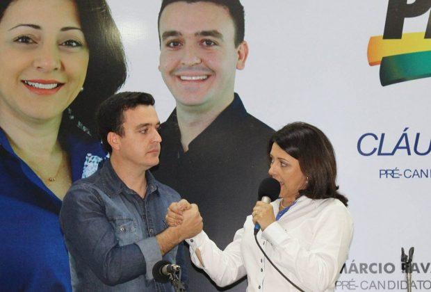 PMDB da Estiva Gerbi confirma nome de Cláudia Botelho para eleição majoritária