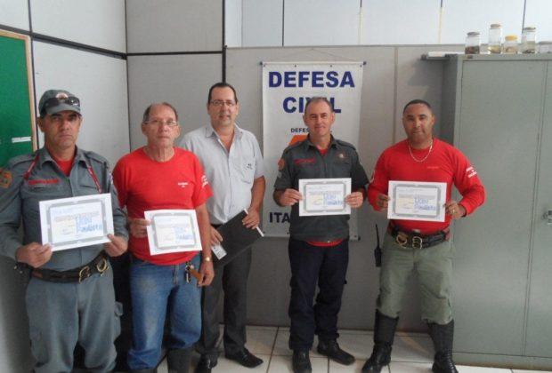 Agentes da Defesa Civil, SAMA e Serviços Públicos recebem certificados NR-31