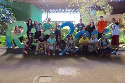 Alunos de Educação Física realizam visita técnica às Olimpíadas Rio 2016