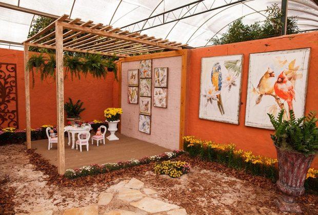 Mostra de Paisagismo da Expoflora apresenta novas tecnologias