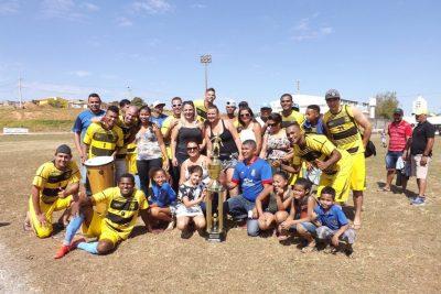 Furacão Baiano vence a Copa Possense de Futebol Amador