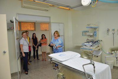 Unidade Neonatal do Hospital Municipal abriga visita técnica