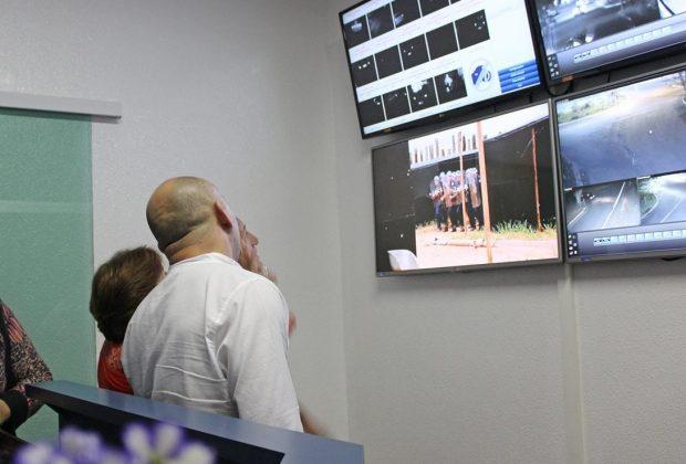 Prefeitura inaugura sistema de Videomonitoramento e Rádio Comunicação