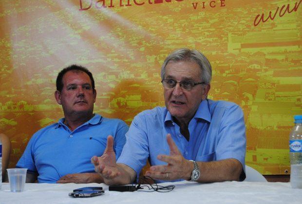 Walter Caveanha vence eleição com 64,34% dos votos