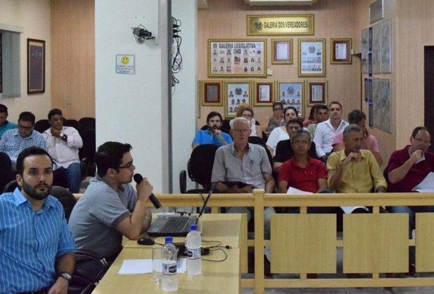 Munícipes compareceram a audiência pública do orçamento para 2017