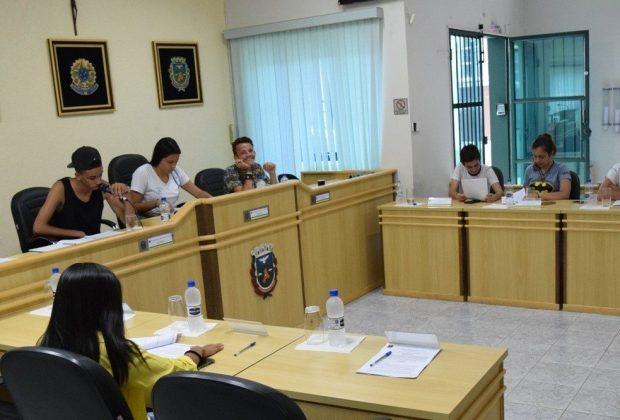 Propostas para educação são destaque em sessão da Câmara Jovem