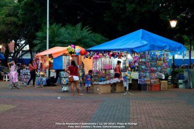 Feira de Artesanato e Gastronomia acontece domingo, em Cosmópolis