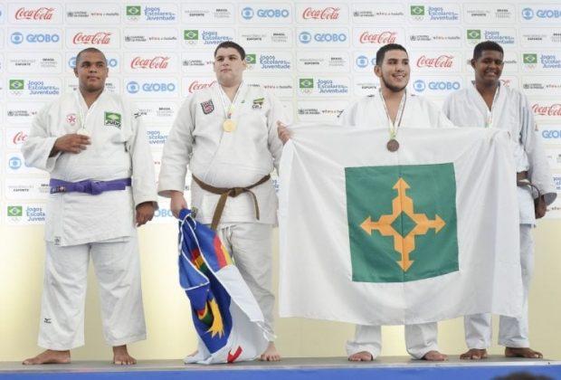 Atleta nogueirense é vice-campeão brasileiro estudantil de Judô