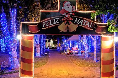 Natal em Holambra começa nesta sexta-feira, dia 9