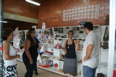 Secretaria de Cultura e Turismo visita espaço de exposição em Socorro