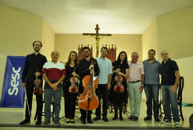 Quarteto de Cordas reúne bom público nos Prados