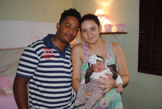 Primeiro bebê de 2017 em Mogi Guaçu se chama Lorena