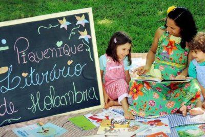 Piquenique Literário acontece dia 8 em Holambra