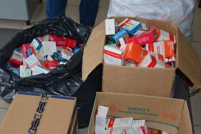 Câmara Municipal recebe doação de medicamentos em Posse