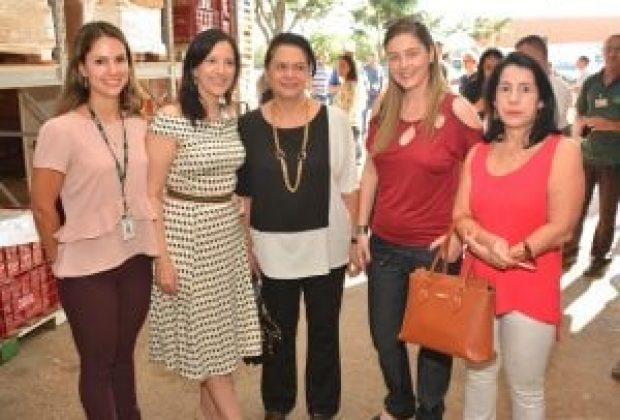 Presidente do Fundo Social visita Banco de Alimentos de Campinas