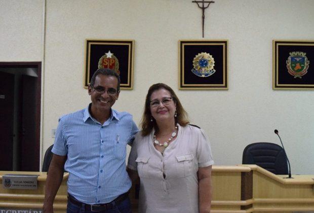 Presidente da Câmara de Indaiatuba visita Câmara de Holambra