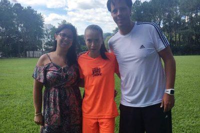 Menina do futebol da Prefeitura de Amparo disputará o Paulistão