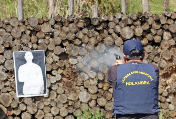 Guardas Municipais encerram nesse sábado intensa semana de treinamento