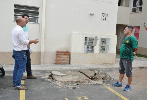Prefeitura faz vistoria no Morada Nova