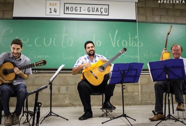 Violões Artes Trio se apresenta em Mogi Guaçu nesta terça, 14