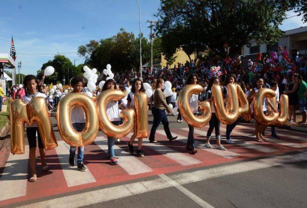 Aniversário da cidade é comemorado com desfile e série de atrações