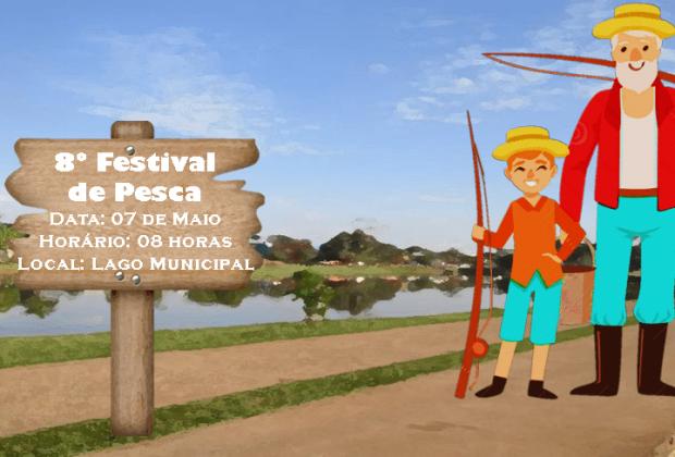 Festival de Pesca acontece neste domingo em Engenheiro Coelho