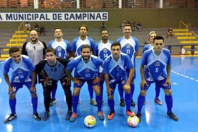 Futsal joga na noite de terça-feira, dia 16