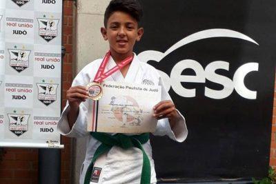 Atleta nogueirense é Campeão Regional de Judô