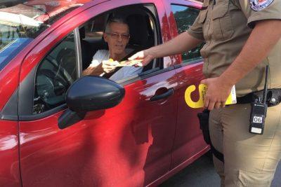 Ação de Conscientização do Maio Amarelo acontece em Artur Nogueira