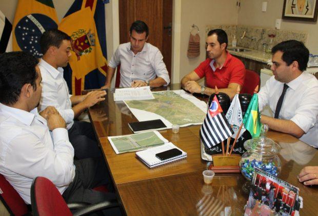 Rota das Bandeiras firma para novembro entrega do novo retorno na saída de Artur para Eng. Coelho