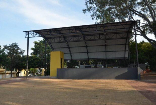 Palco do Parque Juca Mulato será oficialmente entregue neste domingo