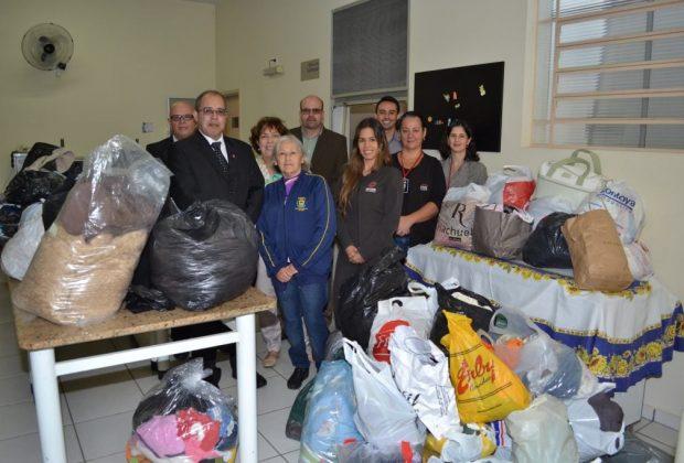 Campanha do Agasalho: Fundo Social recebe doações do Sescon Campinas