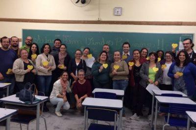 Professores da rede pública participaram de primeira oficina por áreas
