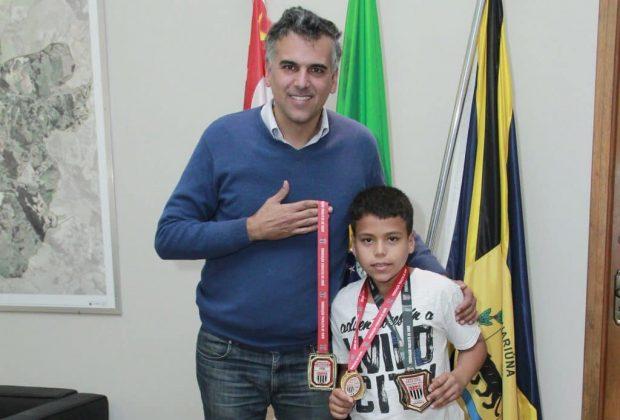 Com apoio da Prefeitura, menino-judoca disputará Campeonato Sul Brasileiro pela primeira vez