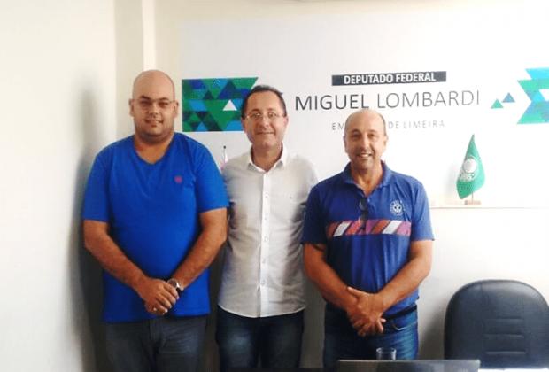 Representantes de Eng. Coelho se reúnem com Chefe de Gabinete do Deputado Miguel Lombardi