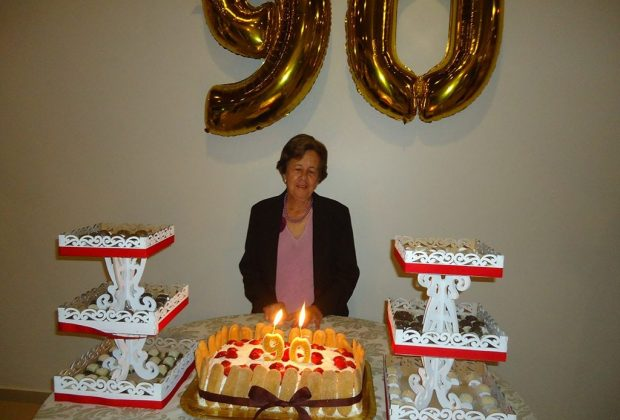 90 anos da vovó Jeronima Paro – Artur Nogueira