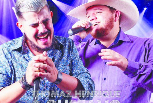 Tomaz Henrique e Gustavo fazem sucesso em shows pela região