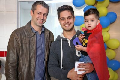 Alunos da Creche Casulo prestam homenagem de Dia dos Pais