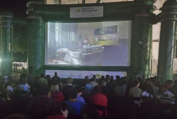 Município ganha sessão de cinema ao ar livre