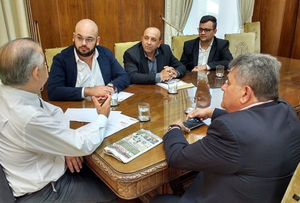 Representantes de Engenheiro Coelho são recebidos pelo Vice Governador
