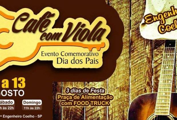 Prefeitura de Engenheiro Coelho promoverá o 1º Café com Viola
