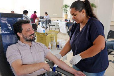 Campanha de Doação de Sangue reúne mais de 50 holambrenses
