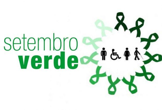 Setembro Verde sensibiliza sobre inclusão de pessoas com deficiência