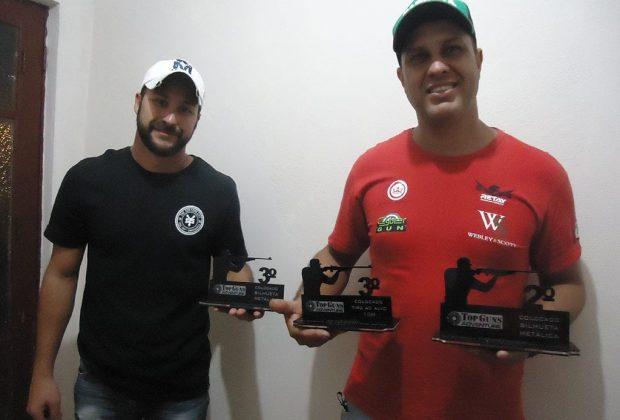 Irmãos nogueirenses se destacam no campeonato de tiro esportivo em Holambra